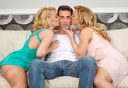 Aaliyah Love & Cherie DeVille & Ryan Driller in 2 Chicks Same Time