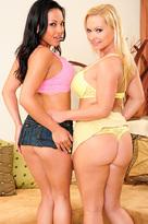 Adrianna Luna starring in Friendporn videos with BGG and Big Ass
