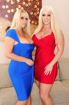 Karen Fisher & Alura Jenson in 2 Chicks Same Time  - Centerfold