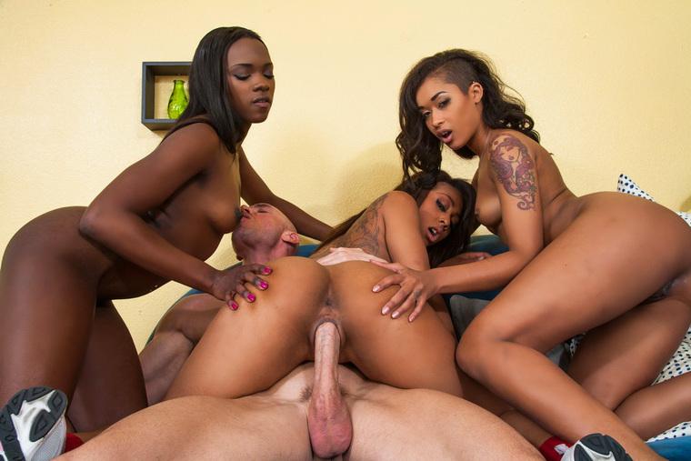 Skin Diamond, Leilani Leeane & Ana Foxxx