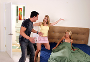 Avy Scott, Val Malone & Marco Banderas in 2 Chicks Same Time - Sex Position 1