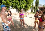Chanel Preston & Hunter Bryce & Kortney Kane & Sadie Swede & Johnny Sins in 2 Chicks Same Time