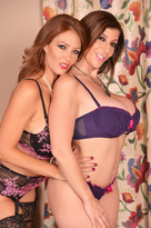 Sara Jay & Charlee Chase in 2 Chicks Same Time  - Centerfold
