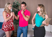 Watch Harley Jade & Mia Malkova & Johnny Castle in 2 Chicks Same Time