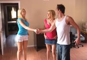 Kagney Linn Karter & Krissy Lynn & Will Powers in 2 Chicks Same Time