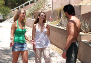 Tera Knightly & Madison Fox & Charles Dera in 2 Chicks Same Time story pic