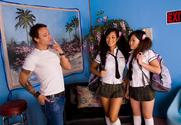 Gianna Lynn & Kaiya Lynn & Kurt Lockwood in Asian 1 On 1 story pic