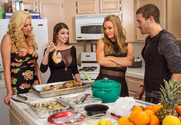 Brooklyn Chase & Nicole Aniston & Summer Brielle & Xander Corvus in American Daydreams story pic