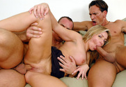 Lisa DeMarco, Marco Banderas & Alberto Rey in Diary of a Milf - Sex Position 2