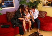 Monica Mayhem, Maya Divine & Jordan Ashley in Diary of a Milf - Sex Position 1