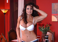 Teri Weigel & Ron Jeremy in Diary of a Milf - Centerfold