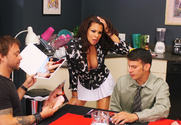 Teri Weigel, Kurt Lockwood & Anthony Rosano in Diary of a Milf - Sex Position 1