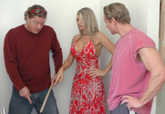 Vicky Vette & Alex Sanders & Anthony Hardwood in Diary of a Milf
