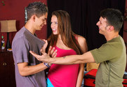 Tori Black, Anthony Rosano & Zane in Diary of a Nanny - Sex Position 1