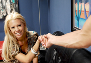 Tanya James & Christian in Housewife 1 on 1 story pic