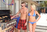 Nikki Benz, Emma Starr, Jessica Jaymes & Richie Black in I Have a Wife - Sex Position 1