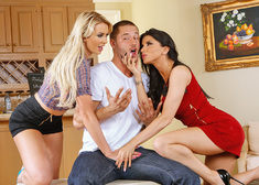 Romi Rain, Gigi Allens & Danny Mountain in I Have a Wife - Centerfold