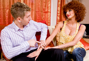 Joslyn James & Danny Wylde in I Have a Wife - Sex Position 1