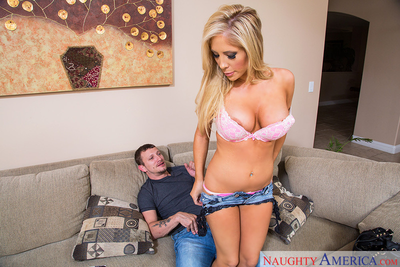 Porn star Tasha Reign fucking hard