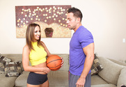 Jada Stevens  & Johnny Castle in My Dad's Hot Girlfriend - Sex Position 1