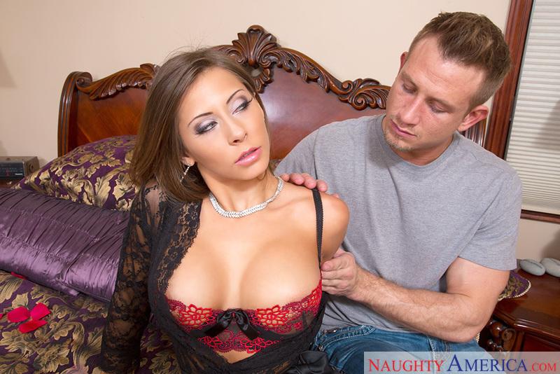 Porn star Madison Ivy fucking hard