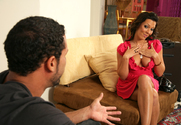 Rachel Starr & Carlo Carrera in My Dad's Hot Girlfriend - Sex Position 1