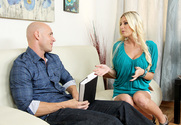 Riley Evans & Johnny Sins in My Dad's Hot Girlfriend story pic