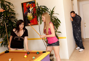 Avril Hall & Jordan Ash in My Friend's Hot Girl story pic