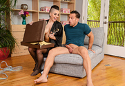 Rachael Madori & Johnny Castle in My Friend's Hot Girl story pic
