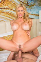Alexis Fawx starring in Friend's Momporn videos with American and Big Fake Tits