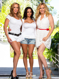Julia Ann, Brandi Love, Ava Addams & Mr. Pete in My Friends Hot Mom - Centerfold