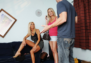 Misty Vonage, Bridgett Lee & Johnny Sins in My Friend's Hot Mom - Sex Position 1