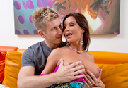 Diamond Foxxx & Danny Wylde in My Friends Hot Mom - Sex Position 1