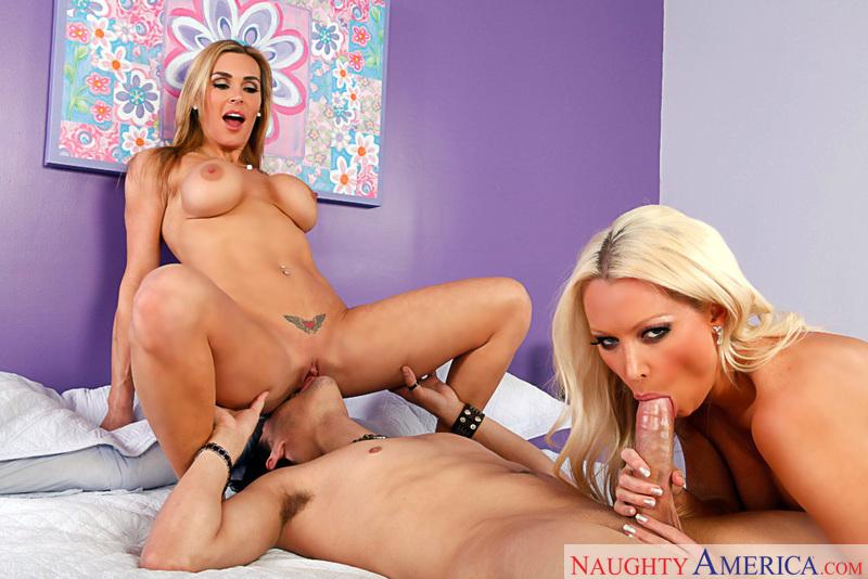 Porn star Diana Doll & Tanya Tate fucking hard