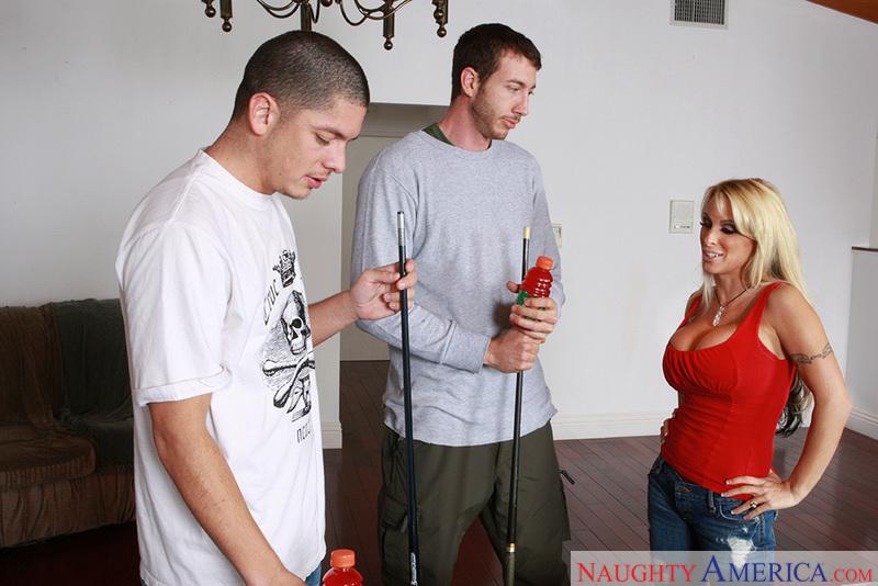 Porn star Holly Halston fucking hard
