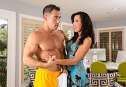 Lezley Zen & Johnny Castle in My Friends Hot Mom - Sex Position 1