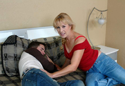 Mia Ivanova & Kris Slater in My Friend's Hot Mom story pic