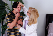 Nina Hartley & Anthony Rosano in My Friends Hot Mom - Sex Position 1