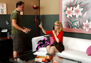 Nina Hartley & Alec Knight in My Friends Hot Mom - Sex Position 1