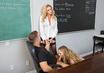 Watch Alyssa Cole & Briana Banks & Chad White in My First Sex Teacher