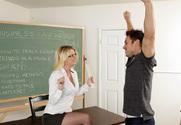 Anita Blue & Johnny Castle in My First Sex Teacher