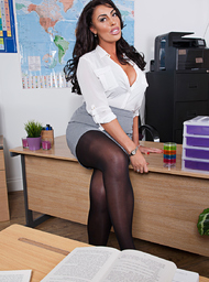 Ava Koxxx & Sam Bourne in My First Sex Teacher