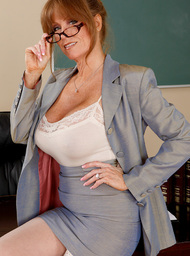 Darla Crane & Jordan Ash in My First Sex Teacher - Centerfold