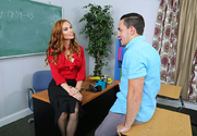 Diamond Foxxx & Peter Green in My First Sex Teacher - Sex Position 1