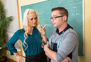 Holly Heart & Dane Cross in My First Sex Teacher - Sex Position 1