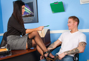 India Summer & Richie Black in My First Sex Teacher - Sex Position 1