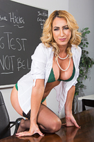 Janna Hicks starring in Professorporn videos with American and Big Fake Tits