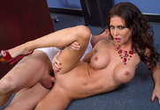 Jessica Jaymes & Ike Diezel in My First Sex Teacher - Sex Position 1