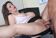 June Summers & Will Powers in My First Sex Teacher - Sex Position 2