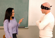 Lisa Ann & Derrick Pierce in My First Sex Teacher - Sex Position 1